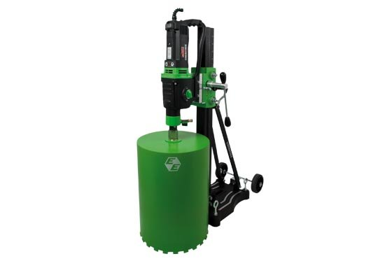Diamond core drilling units