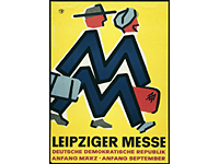Leipziger Messeposter from 1980 (photo: Leipziger Messe GmbH)